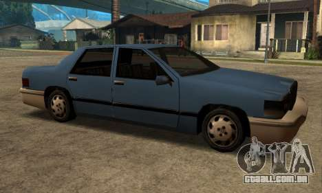 Beta Elegant Final para GTA San Andreas traseira esquerda vista