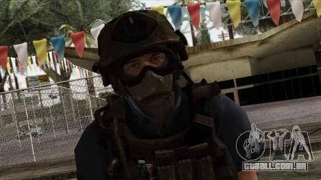 Modern Warfare 2 Skin 11 para GTA San Andreas terceira tela