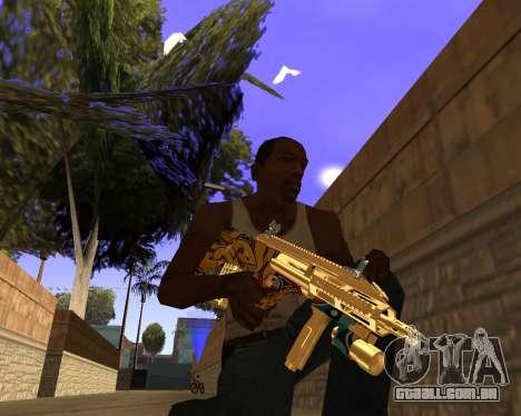 Graffity Weapons para GTA San Andreas terceira tela