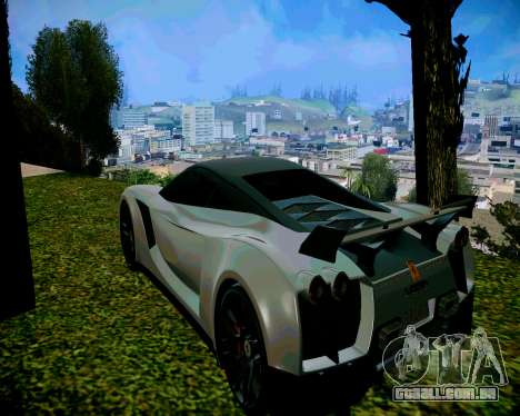 Super ENB fracas e médias PC para GTA San Andreas por diante tela