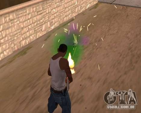 Freaky efeitos para GTA San Andreas segunda tela