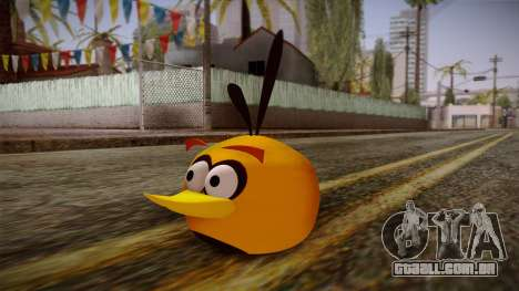 Orange Bird from Angry Birds para GTA San Andreas