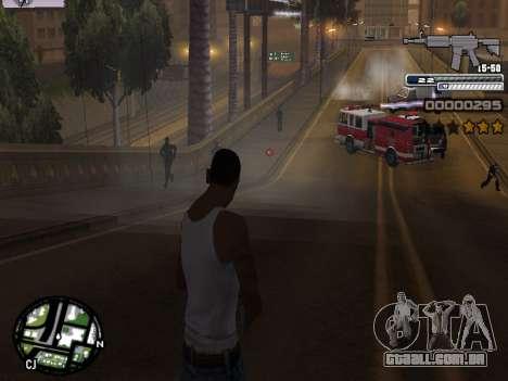 CLEO HUD Spiceman para GTA San Andreas quinto tela