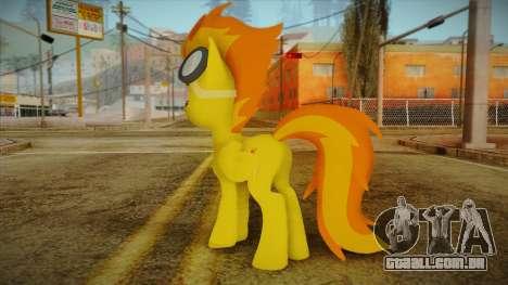 Spitfire from My Little Pony para GTA San Andreas segunda tela