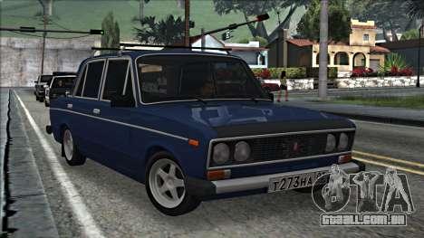 ВАЗ 2106 estilo russo 2.0 para GTA San Andreas