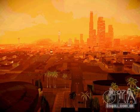 Super ENB fracas e médias PC para GTA San Andreas