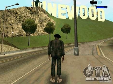 Cкин Benito из Stalker para GTA San Andreas segunda tela