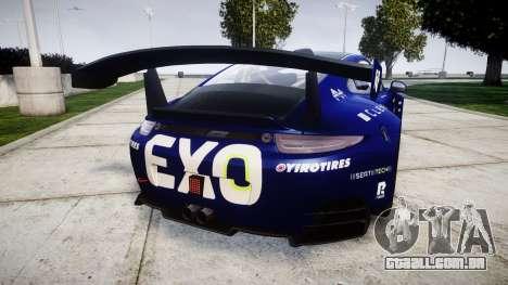 RUF RGT-8 GT3 [RIV] EXO para GTA 4 traseira esquerda vista