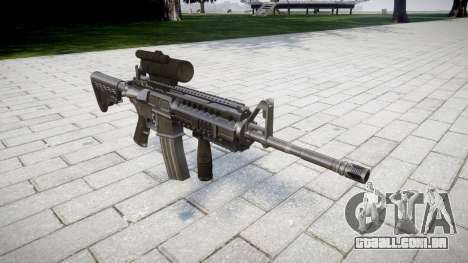 Automático carabina M4 Tático Senhores para GTA 4