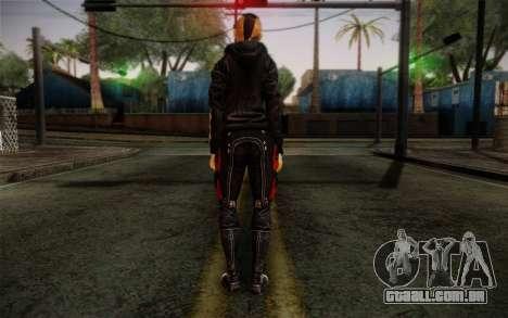 Jack Hood from Mass Effect 3 para GTA San Andreas segunda tela