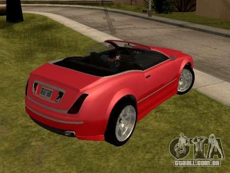 Cognoscenti Cabrio para GTA San Andreas esquerda vista