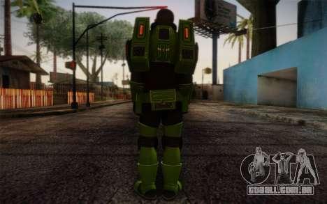 Space Ranger from GTA 5 v3 para GTA San Andreas segunda tela