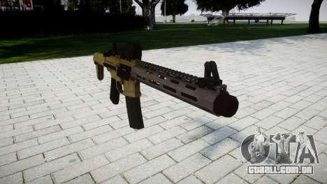 Rifle de assalto AAC Honey Badger para GTA 4