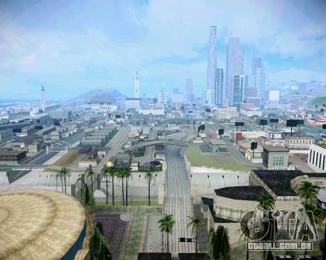 Super ENB fracas e médias PC para GTA San Andreas quinto tela