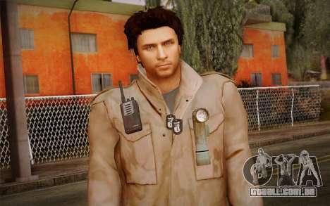 Alex Shepherd From Silent Hill para GTA San Andreas terceira tela