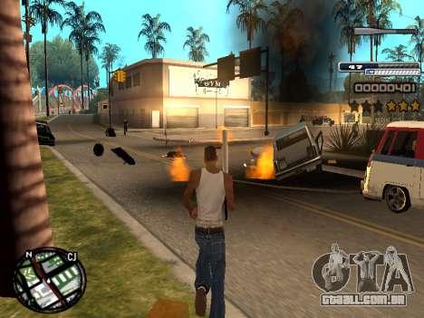 CLEO HUD Spiceman para GTA San Andreas terceira tela