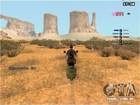 SAMP Fixer para GTA San Andreas segunda tela