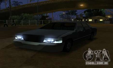 Beta Elegant Final para GTA San Andreas vista interior