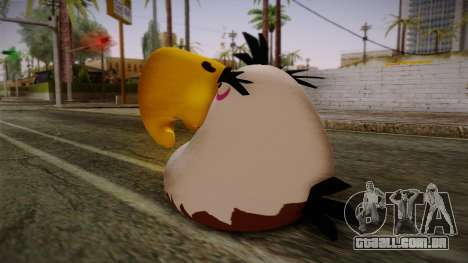 Might Eagle Bird from Angry Birds para GTA San Andreas segunda tela