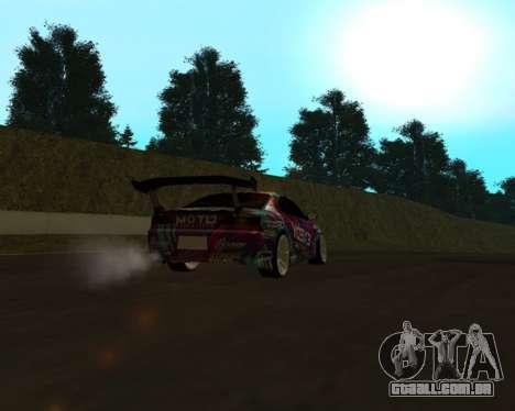 Nissan Silvia S15 EXEDY para GTA San Andreas vista direita