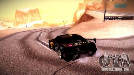 Just ENB para GTA San Andreas terceira tela