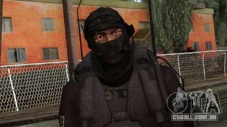 Modern Warfare 2 Skin 14 para GTA San Andreas terceira tela