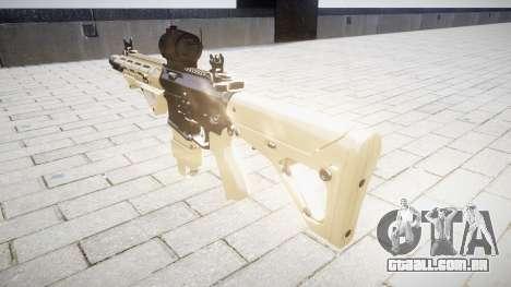 Rifle AR-15 CQB mira para GTA 4 segundo screenshot