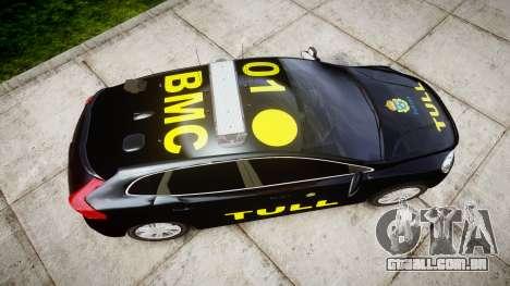 Volvo V40 Swedish TULL [ELS] para GTA 4 vista direita