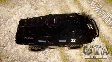 New APC para GTA 4 vista direita
