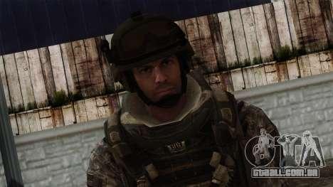 Modern Warfare 2 Skin 7 para GTA San Andreas terceira tela
