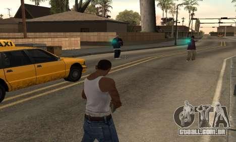 Turquesa efeitos para GTA San Andreas segunda tela