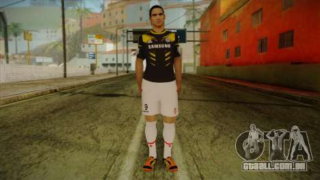 Footballer Skin 1 para GTA San Andreas