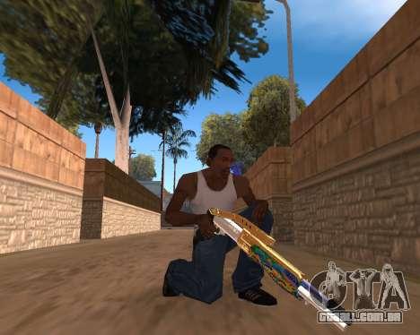 Graffity Weapons para GTA San Andreas
