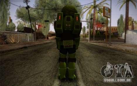 Space Ranger from GTA 5 v1 para GTA San Andreas segunda tela