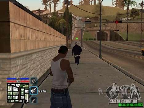 C-HUD by SampHack v.4 para GTA San Andreas