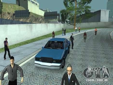 Beta Elegant para vista lateral GTA San Andreas