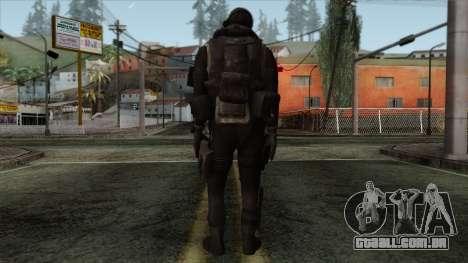Modern Warfare 2 Skin 14 para GTA San Andreas segunda tela