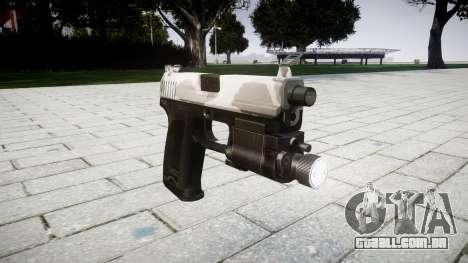 Pistola HK USP 45 yukon para GTA 4