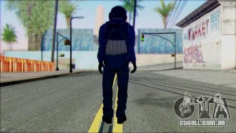 Chinese Pilot from Battlefiled 4 para GTA San Andreas segunda tela