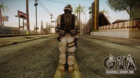 Army Skin 1 para GTA San Andreas segunda tela