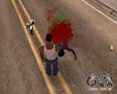 Freaky efeitos para GTA San Andreas terceira tela