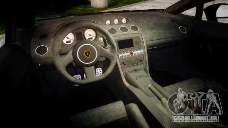 Lamborghini Gallardo LP570-4 Superleggera 2011 S para GTA 4 vista interior