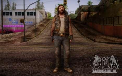 Francis from Left 4 Dead Beta para GTA San Andreas