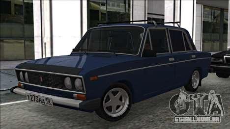 ВАЗ 2106 estilo russo 2.0 para GTA San Andreas esquerda vista