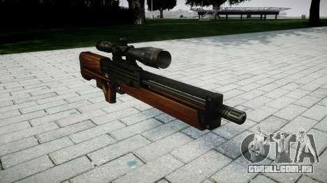 Sniper rifle Walther WA 2000 para GTA 4