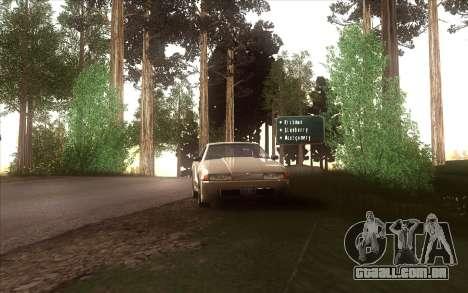 A revitalização da aldeia Dillimore para GTA San Andreas décimo tela