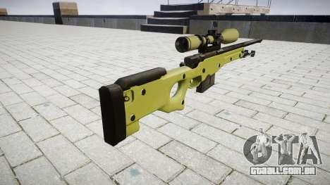 Sniper rifle AWP para GTA 4 segundo screenshot
