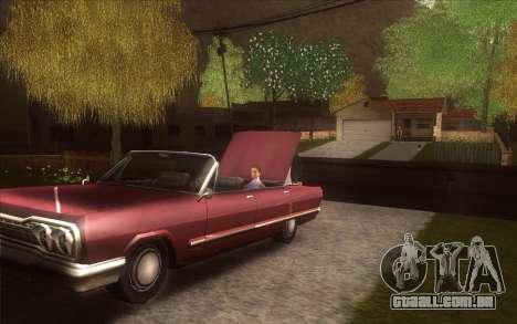 A revitalização da aldeia Dillimore para GTA San Andreas sexta tela