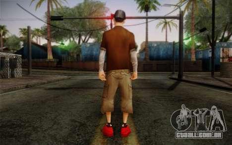 Ginos Ped 22 para GTA San Andreas segunda tela