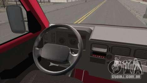 Iveco Daily 35 P para GTA San Andreas traseira esquerda vista